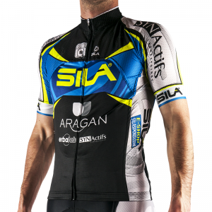 MAILLOT LIGHT SILA TEAM 2016 Manches courtes