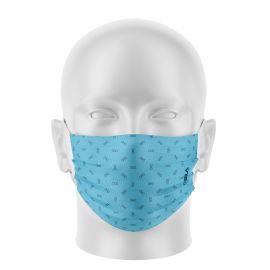 Masques de Protection BOWTIE CYAN - Réutilisable et lavable