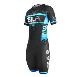 SKATING SUIT SILA PULSE STYLE Blue Sky - Short sleeves