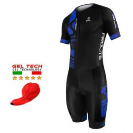 CYCLING SKINSUIT PROLITE SILA BLUE - SS