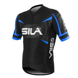 MAILLOT PRO RACE SILA TEAM - BLEU - Mc
