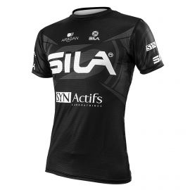 MAILLOT RUNNING HOMME - PRO ULTRALIGHT - SILA TEAM NOIR - Mc
