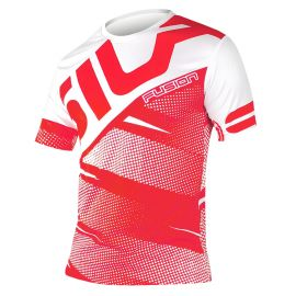 MAILLOT RUNNING HOMME FUSION ROUGE