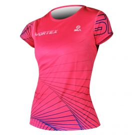 RUNNING JERSEY WOMEN VORTEX PINK