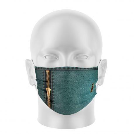 Masque de Protection JEANS - Réutilisable et lavable