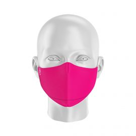 LOT Masques de Protection PRIME Rose - Forme Ergo - 2 couches - Réutilisable et lavable