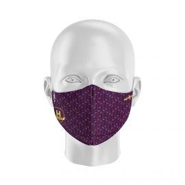 Masque Barrière HBC NANTES - Forme Ergo - 2 couches - Réutilisable et lavable