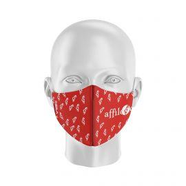 Masque Barrière AFFILOGIC - Forme coquille - 2 couches - Réutilisable et lavable