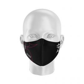 Masque Barrière SAINT GREGOIRE TRIATHLON - Forme coquille - 2 couches - Réutilisable et lavable