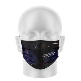 Masque Barrière GAMING CAMPUS - Forme plat - 2 couches - Réutilisable et lavable