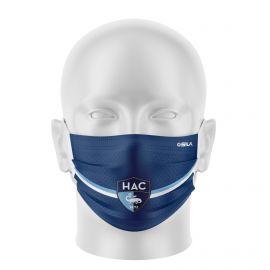Masque Barrière HAVRE AC - Forme plat - 2 couches - Réutilisable et lavable