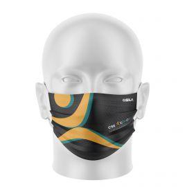 Masque Barrière KEM ONE - Forme plat - 2 couches - Réutilisable et lavable