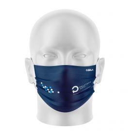 Masque Barrière POLYTECH - Forme plat - 2 couches - Réutilisable et lavable