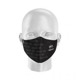 Masque Barrière ASPHALTE ROLLER - Forme Ergo - 2 couches - Réutilisable et lavable