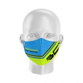 Masque Barrière KUNKEL - Forme Ergo - 2 couches - Réutilisable et lavable