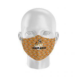 Masque Barrière LENNO - ANIMASIA - Forme Ergo - 2 couches - Réutilisable et lavable