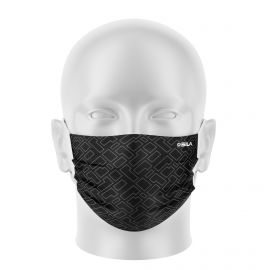 Masque tissu SILA CREATIVITY GRIS - Forme Plate - Filtration 1 - UNS1
