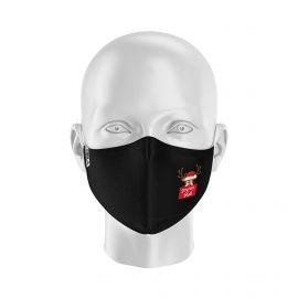 Masque tissu SILA NOEL HAPPY- Forme Ergo - Filtration 2 - UNS2