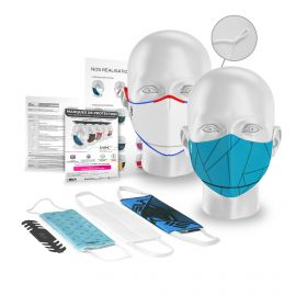KIT ECHANTILLONS Masques barrière - Grand Format Plus