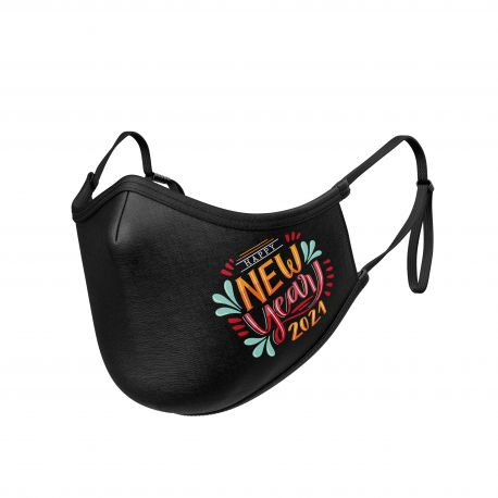 MASK SILA HAPPY NEW YEAR 2021 - Ergo Form - Filtration 2 - UNS2