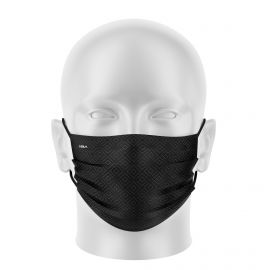 Women mask SILA ELEGANT BLACK / GREY - Flat shape - Filtration 1 - UNS1