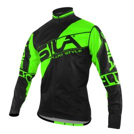 JACKET WINDSTOPPER Detachable sleeves SILA FLUO STYLE 3 GREEN