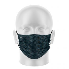 Women mask SILA ELEGANT BLACK / BLUE - Flat shape - Filtration 1 - UNS1