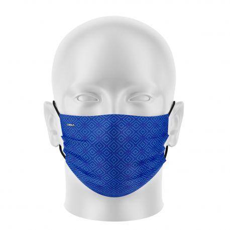 Women mask SILA ELEGANT BLUE - Flat shape - Filtration 1 - UNS1