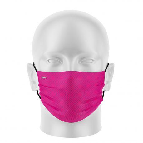 Women mask SILA ELEGANT PINK - Flat shape - Filtration 1 - UNS1