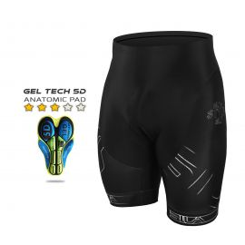 CYCLING BIB SHORT SILA IRON STYLE WHITE ( without braces)
