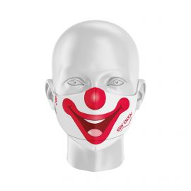 Masque tissu SILA CLOWN - Forme Ergo - Filtration 1 - UNS1