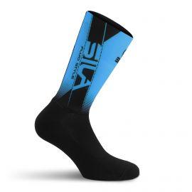 SILA MEDIUM HEIGHT PRO AERO SOCKS - BLUE