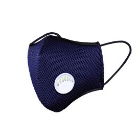 Mask ACTIVE SPORT NAVY BLUE - Filtration 4