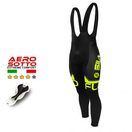 COLLANT CYCLISME SILA FLUO STYLE 3 JAUNE