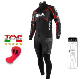 PACK HIVER Cyclisme - SILA TEAM PRO - Rouge