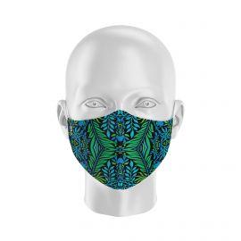 Masque tissu SILA FLOWER - Forme Ergo - Filtration 2 - UNS2