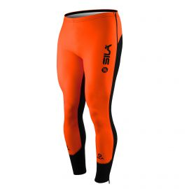 COLLANT D'ÉCHAUFFEMENT ZIP SILA FLUO STYLE 3 PLUS - ORANGE
