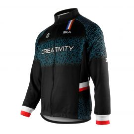 WARMING THERMAL JACKET SILA CREATIVITY - BLUE