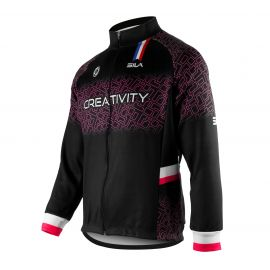 WARMING THERMAL JACKET SILA CREATIVITY - PINK
