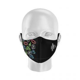 Masque tissu SILA GAMER - Forme Ergo - Filtration 1 - UNS1