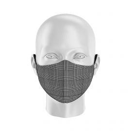 Masque tissu SILA PRINCE DE GALLE - NOIR - Forme Ergo - Filtration 1 - UNS1