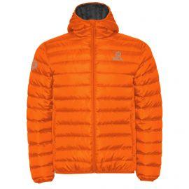 DOUDOUNE à Capuche SILA NORWAY Orange - Homme