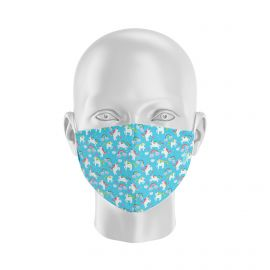 Mask UNICORN BLUE SILA - Form Coque - Filtration 1 - UNS1