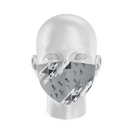 Masque tissu SILA FREESTYLE GRIS Enfants - Forme Coque - Filtration 1 - UNS1