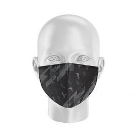 Masque tissu SILA FREESTYLE NOIR Enfants - Forme Coque - Filtration 1 - UNS1