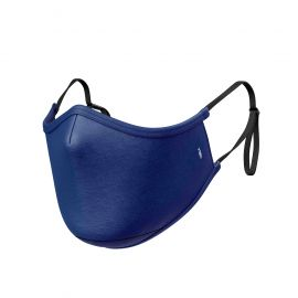 Masque tissu SILA PRIME BLUE NAVY AJUSTABLE - Forme Ergo - Filtration 1 - UNS1