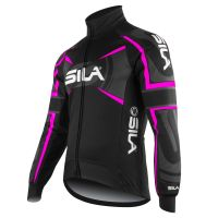 PRO THERMAL WINTER JACKET SILA TEAM - NEON PINK