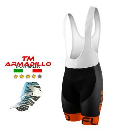 CYCLING BIB SHORT SILA FLUO STYLE 3 Plus - ORANGE