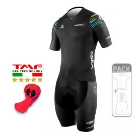 PACK ÉTÉ Cyclisme - SILA LASER STYLE BLEU / JAUNE