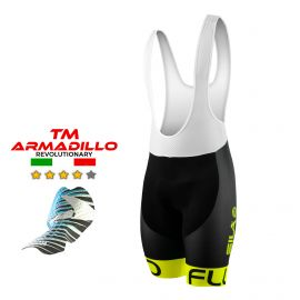 CYCLING BIB SHORT SILA FLUO STYLE 3 Plus - YELLOW